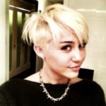 Miley Cyrus Goes Blonde and Cuts Hair Super Short