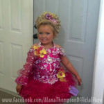 Alana from 'Here Comes Honey Boo Boo' New Pageant Picture