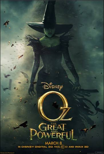 New oz the great and powerful poster