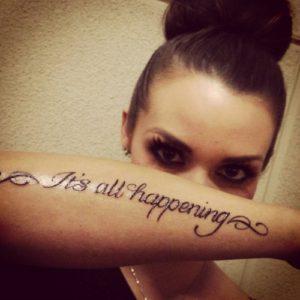 scheana marie tattoo
