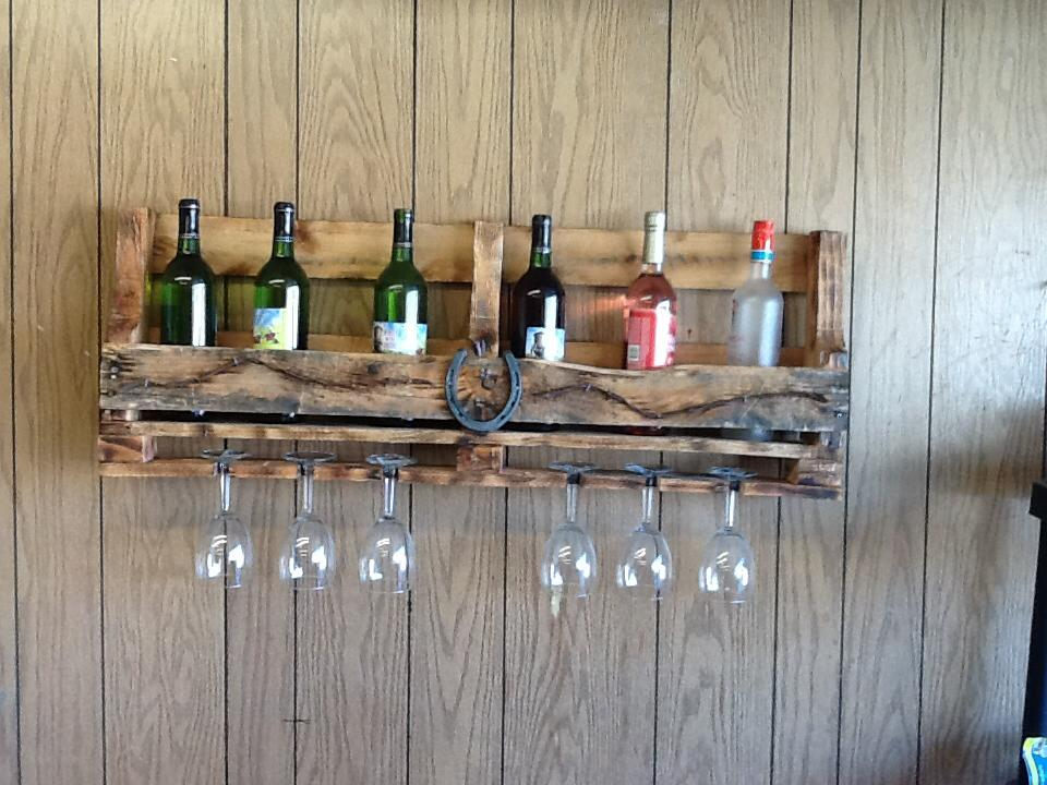 Making wine racks out of pallets archives according 2 mandy for How to make a wine rack out of pallet wood