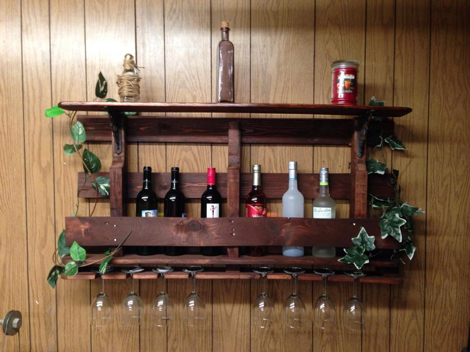 Making Pallet Wine Racks For Your Home According 2 Mandy