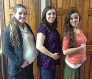 Duggar Girls from Instagram)