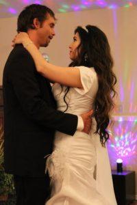 Jeremiah and Carmela dancing