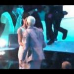 Watch Rihanna Plant a Kiss on Chris Brown at the 2012 MTV VMAs