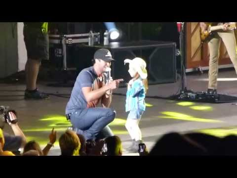 Little Girl Steals Luke Bryan's Show When She Joins Him on Stage