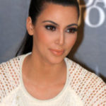 Kim Kardashian Wears Kanye West Inspired Earrings