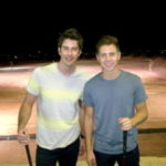 Arie Luyendyk Jr. and Jef Holm Hang Out Post Split