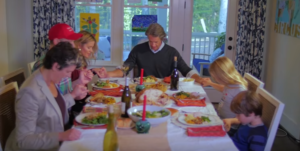 The Holderness Family Impresses With Thanksgiving Parody (Video)