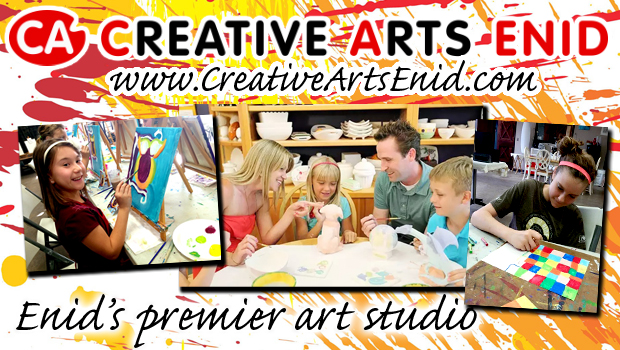 Creative Arts in Enid, Oklahoma for Fun Adult and Children's Classes