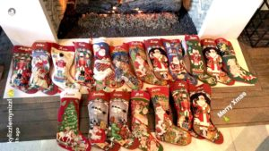 Everyone Gets a Stocking At Kardashian Christmas Except Blac Chyna