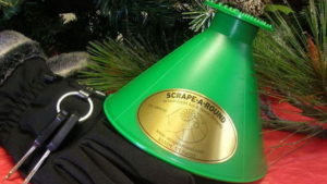 Scrape-A-Round Works Great For Cleaning Ice And Snow Off Windows