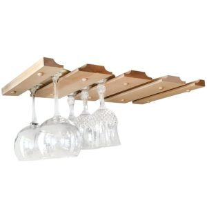 Amazing New Under Cabinet Wine Glass Rack From Smit, Co.