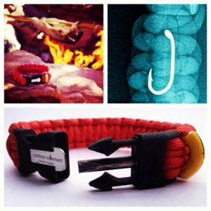 Outdoor Element Survival Bracelets