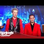 Jarett & Raja Make a Piano Disappear on 'America's Got Talent' 2012