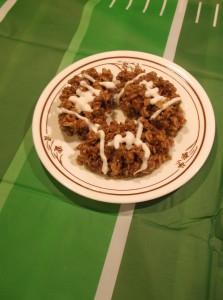 Game Day Rice Krispie Treats for Football Season