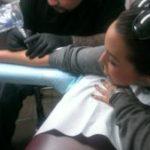 Scheana Marie Shows Off New Tattoo