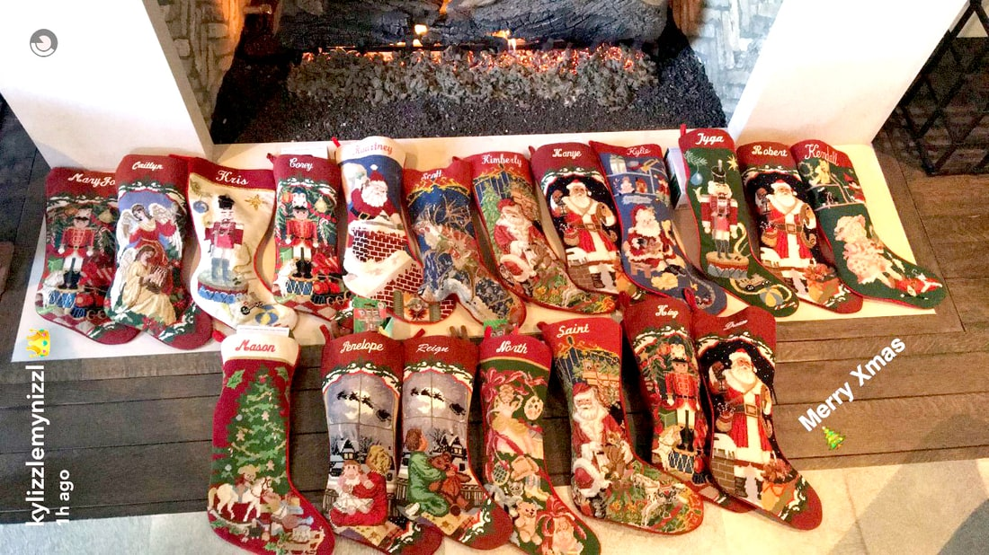 Everyone Gets a Stocking At Kardashian Christmas Except Blac Chyna