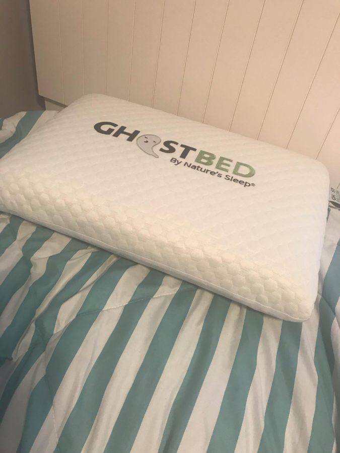 Review: Ghostbed Real-Time Cooling Pillow for A Great Night's Sleep